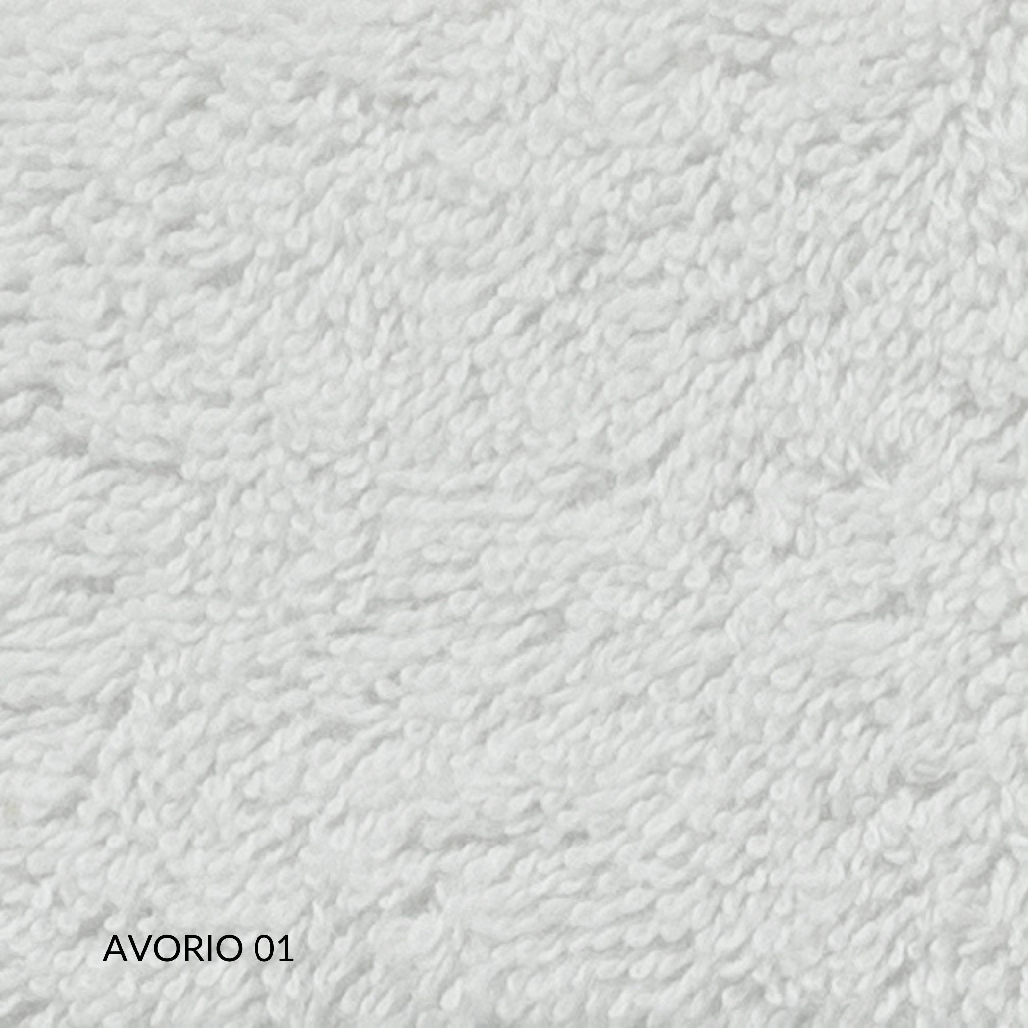 Telo da Bagno 100 x 150 cm in 100% Puro Cotone Naturale, Eccellenti Proprietà Assorbenti, Anallergico e Antibatterico, Decorazione Balza | NOEMI