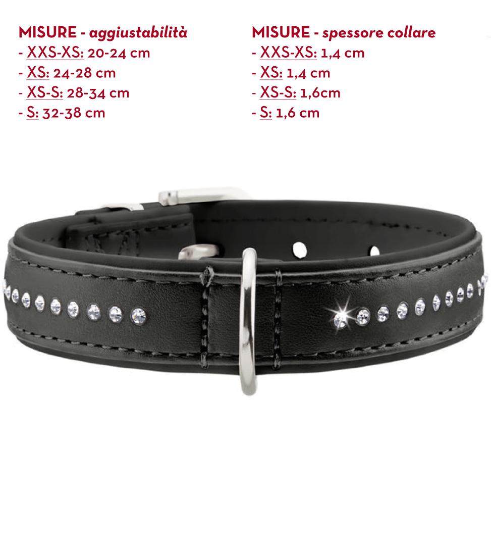 Hunter - Collare Pelle Artificiale - Modern Art Luxus - S