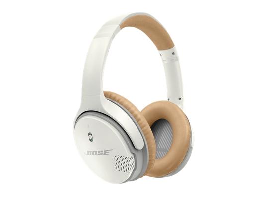 Bose SoundLink auricolare per telefono cellulare Stereofonico Padiglione auricolare Beige, Bianco