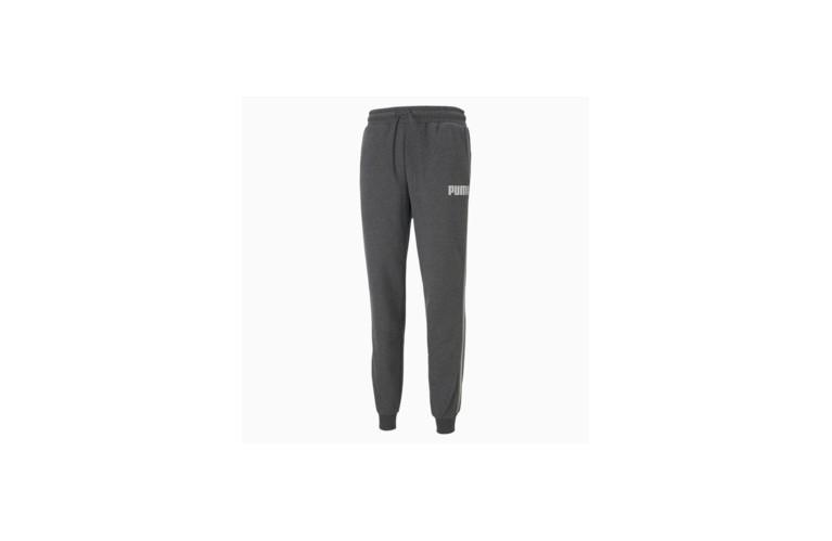 Pantalone puma uomo felpato grigio