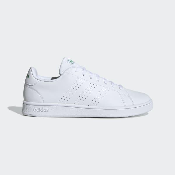 Adidas advantage bianca