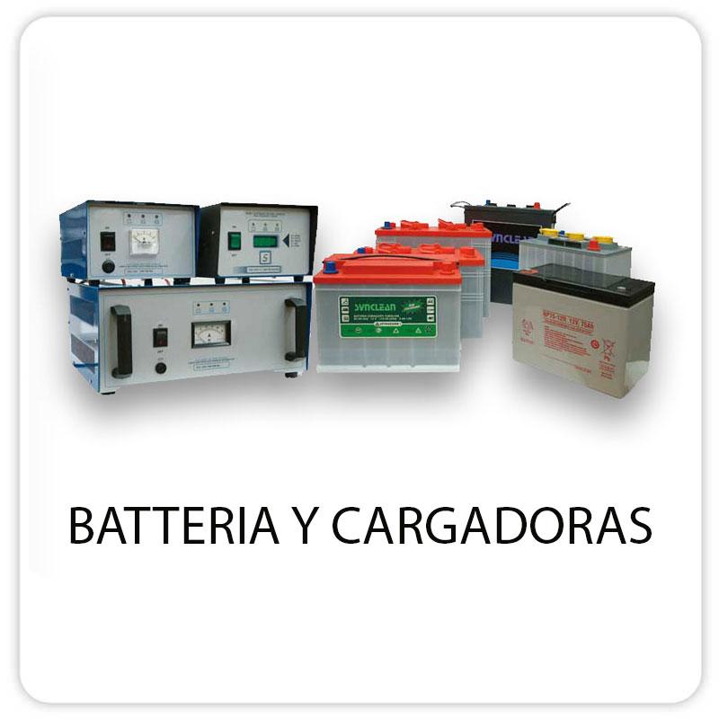 BATTERIA Y CARGADORAS
