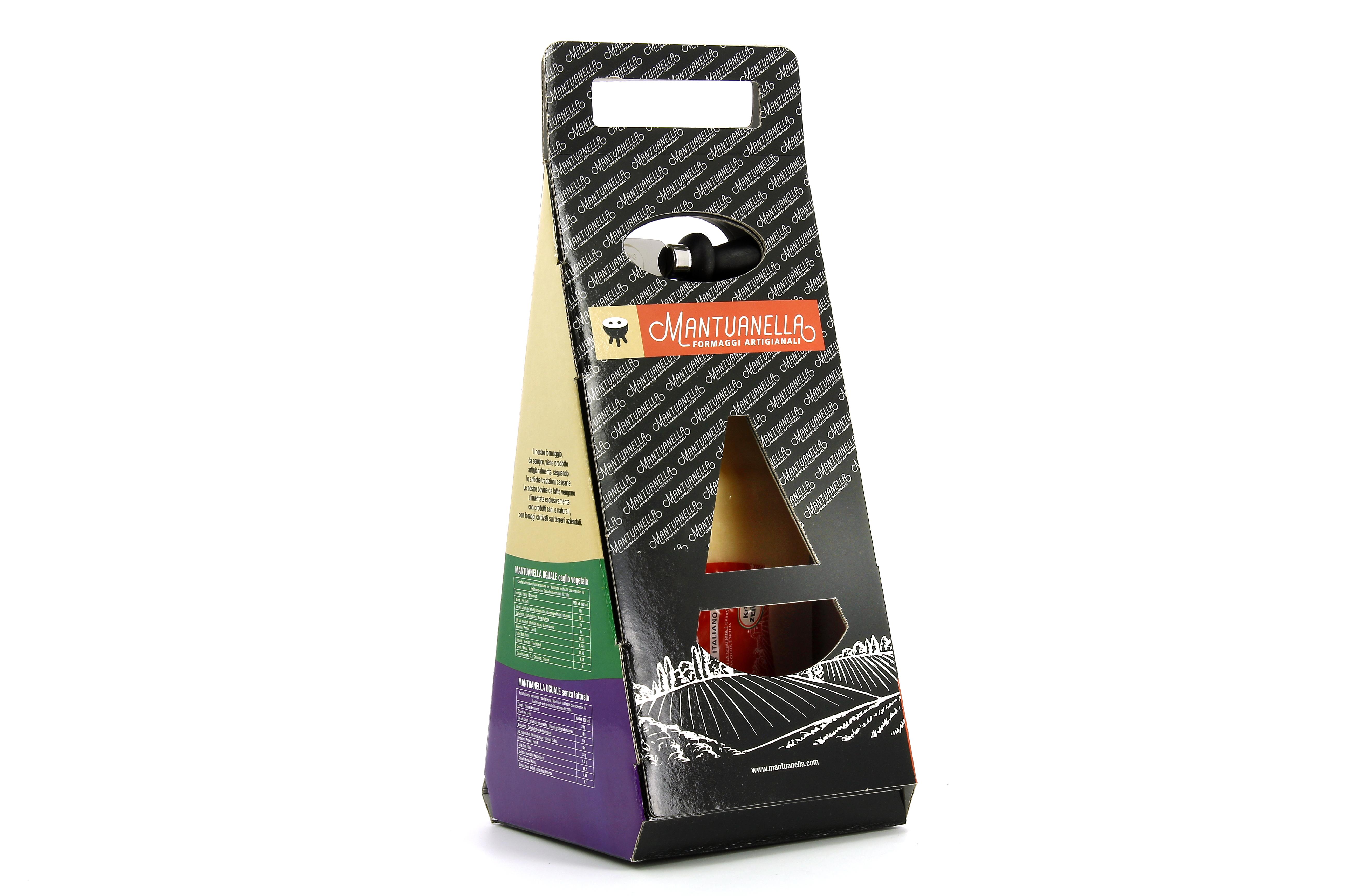 MANTUANELLA CLASSICO - triangolo regalo 1 kg sottovuoto (peso variabile)