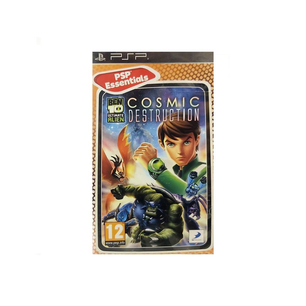 Ben 10 Ultimate Alien: Cosmic Destruction - USATO - PSP