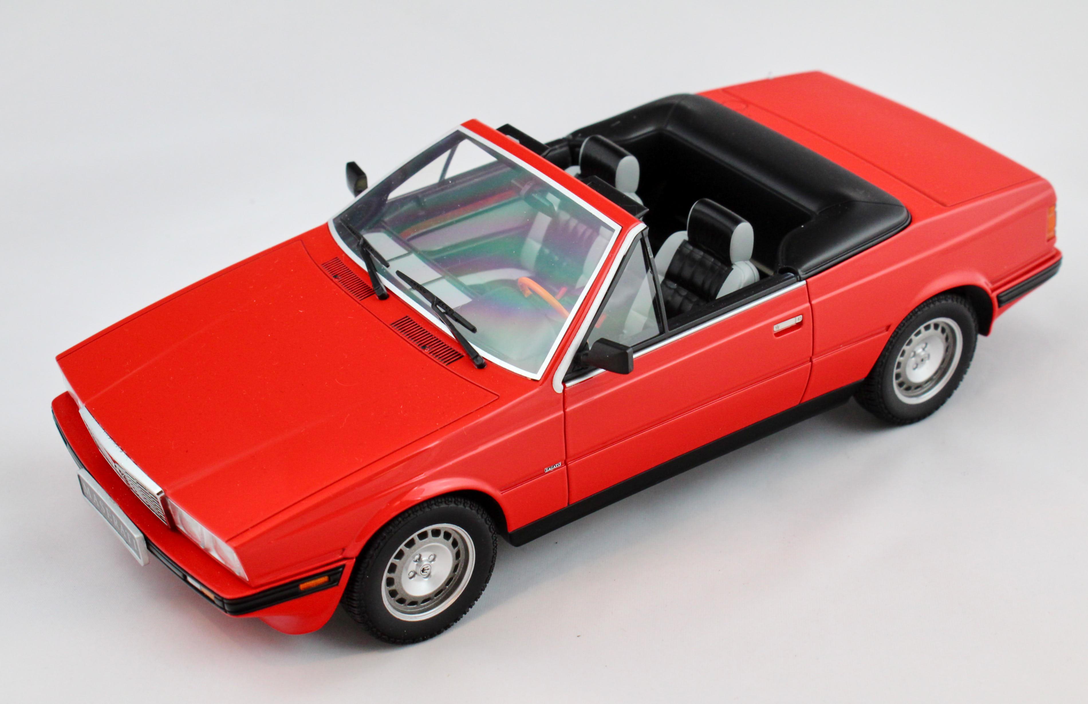 Maserati BiTurbo Spyder 1986 Red 1/18 Minichamps