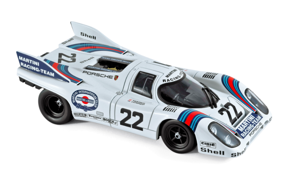 Porsche 917K Winner France 24h 1971 Marko / van Lennep 1/18 Norev