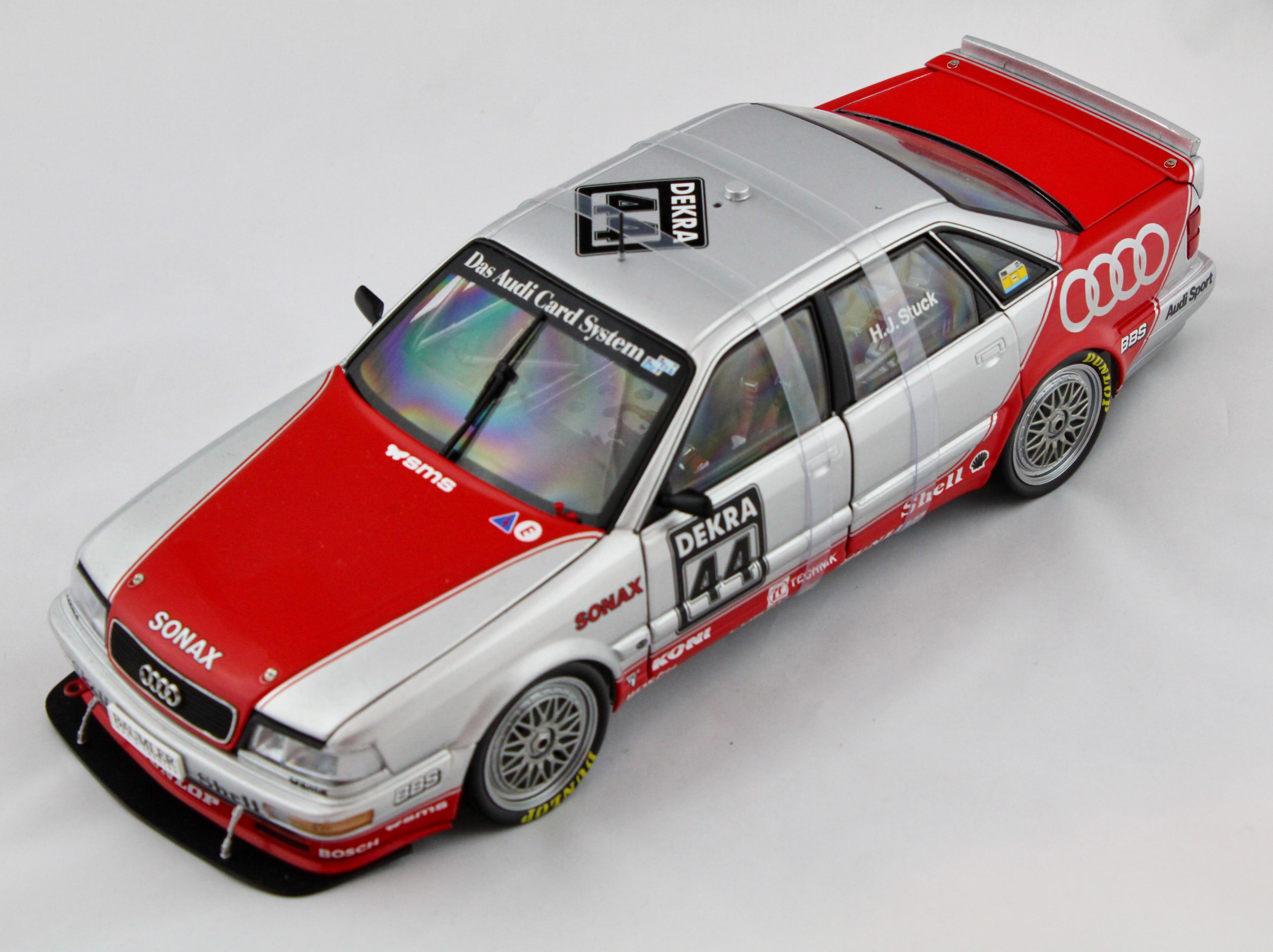 Audi V8 Quattro DTM 1992 Team SMS H.J.Stuck 1/18 Minichamps