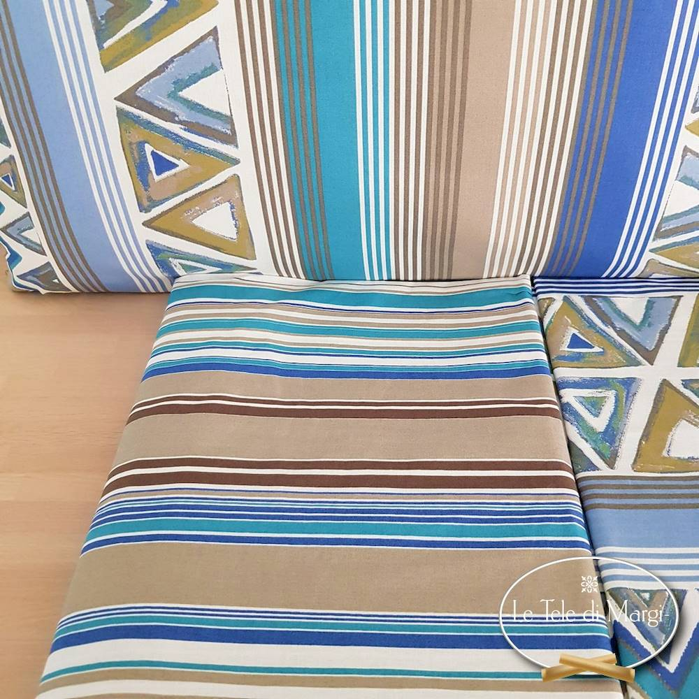 Completo Lenzuola Corner blu matrimoniale