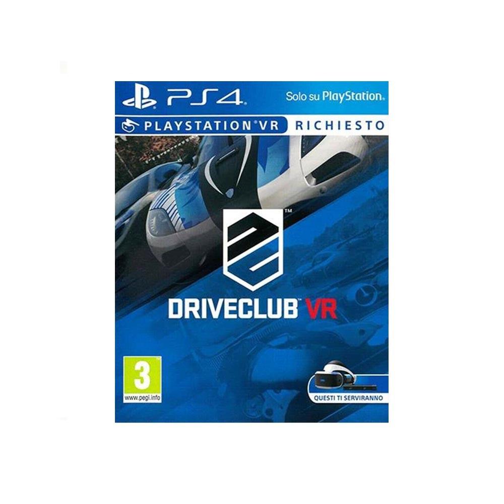 DRIVECLUBVR - USATO - PS4 (RICHIEDE IL PLAYSTATION VR)