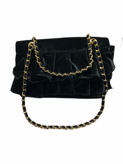 SHOPPING ON LINE MIA BAG TRACOLLA CON BALZE IN VELLUTO NEW COLLECTION WOMEN'S FALL WINTER 2020/2021