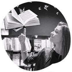 Foto di Irene Greco, libraia