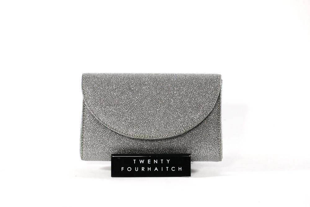Twenty Fourhaitch-Pochette Donna Sidecar/Arg. Glitter