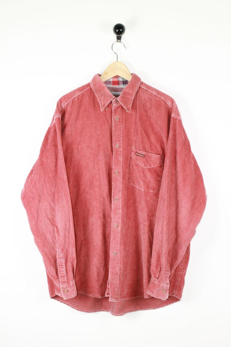 Marlboro - Camicia velluto millerighe