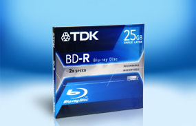 TDK BD-R 25Gb 2x Jewel Case