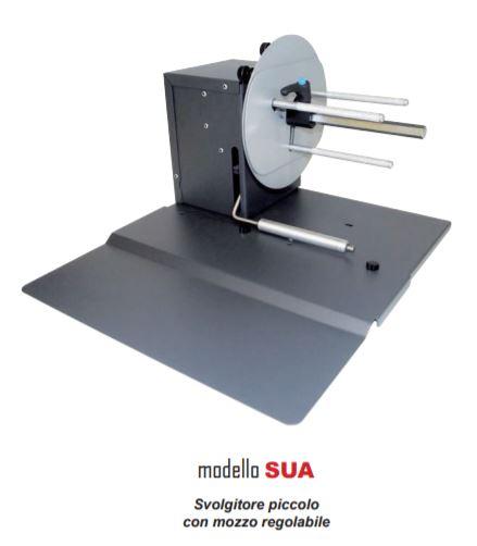 Svolgitore piccolo con mozzo regolabile - Modello SUA