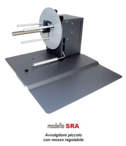 Piccolo Avvolgitore con Mozzo Regolabile - Modello SRA