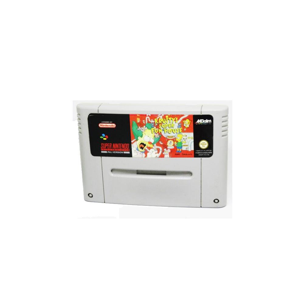 Krusty's Super Fun House - loose - USATO - SNES