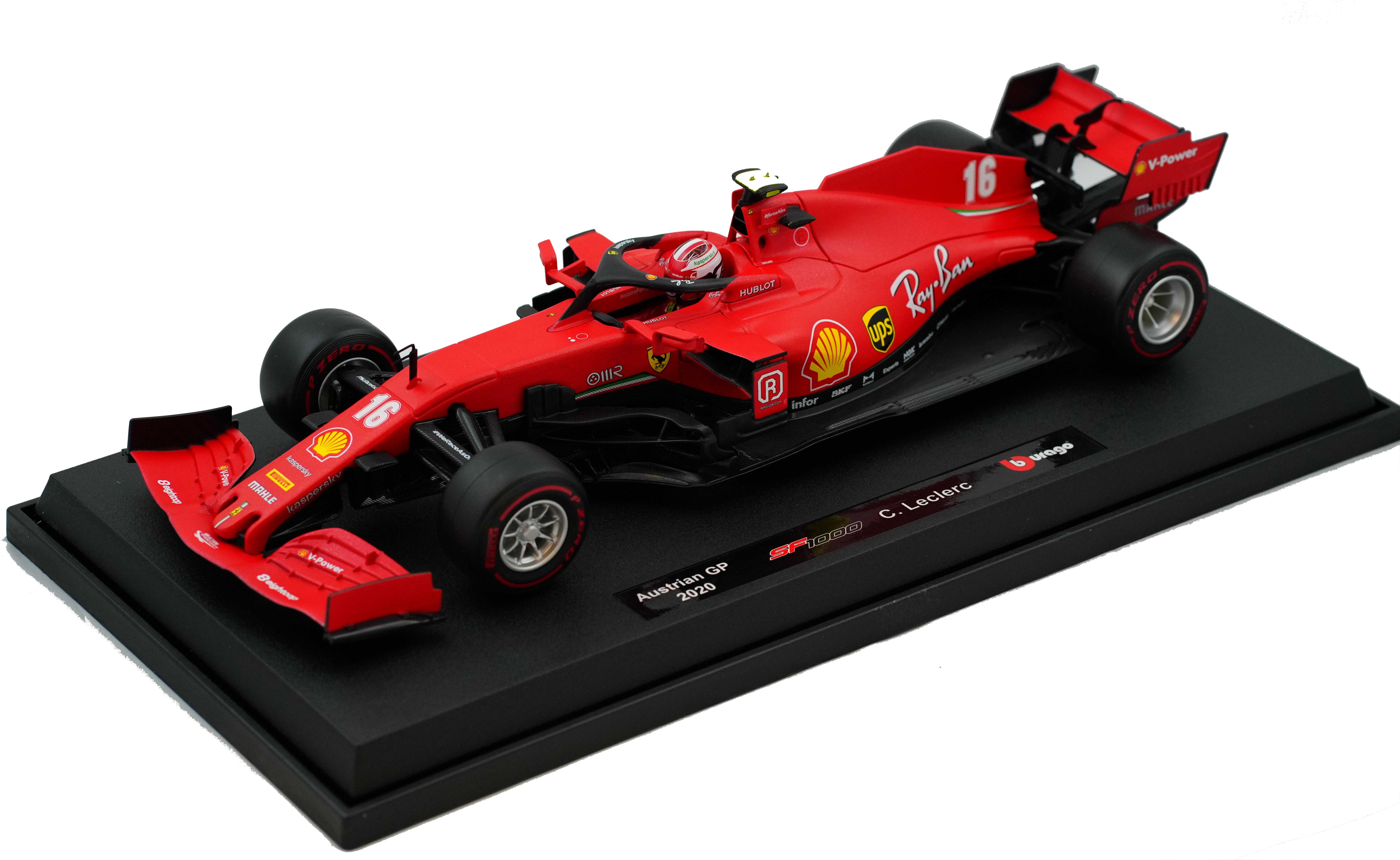 Ferrari SF1000 C. Leclerc Austrian GP 2020 1/18 Burago