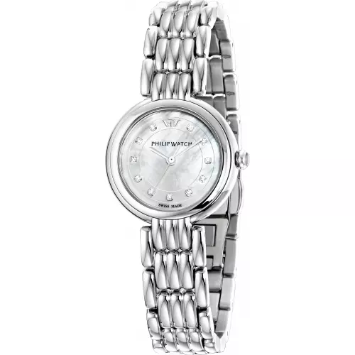 OROLOGIO DONNA PHILIP WATCH CON DIAMANTI SUL QUADRANTE