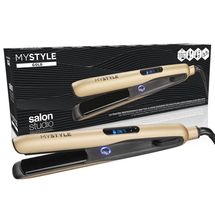 MyStyle Piastra Professionale Gold