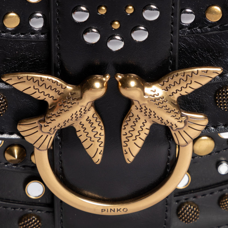 Love Go-Round soft new studs nera PINKO