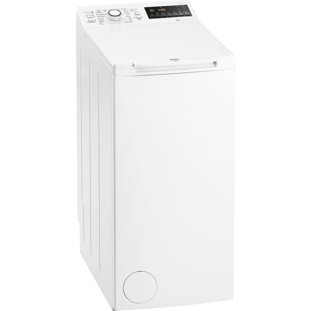Hotpoint WMTG 722B IT/N lavatrice Libera installazione Caricamento dall'alto 7 kg 1200 Giri/min A+++ Bianco