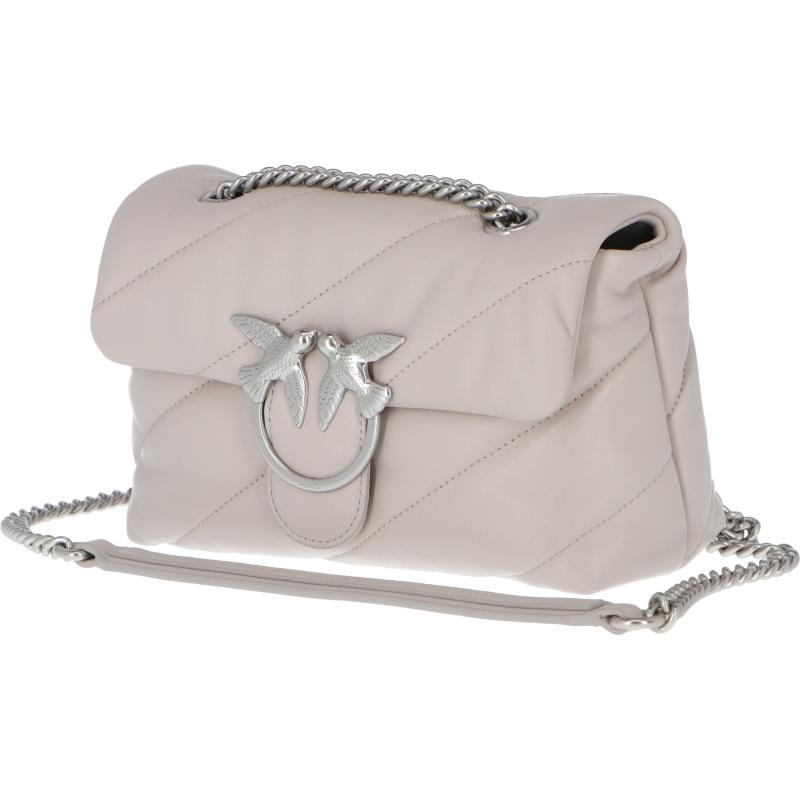 Borsa Love Mini Puff Maxi Quilt CL. Ghiaccio PINKO