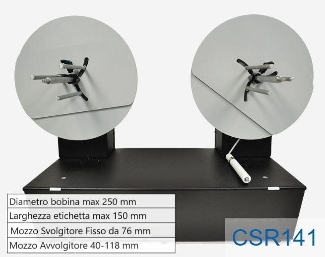 Piccolo ribobinatore - Modello CSR141