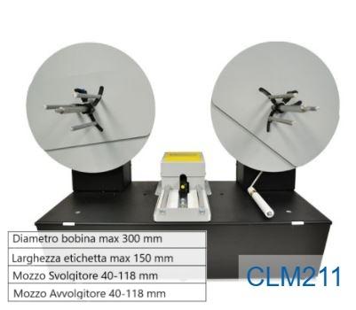 Conta etichetta con sensore etichette mancanti - Modello CLM211