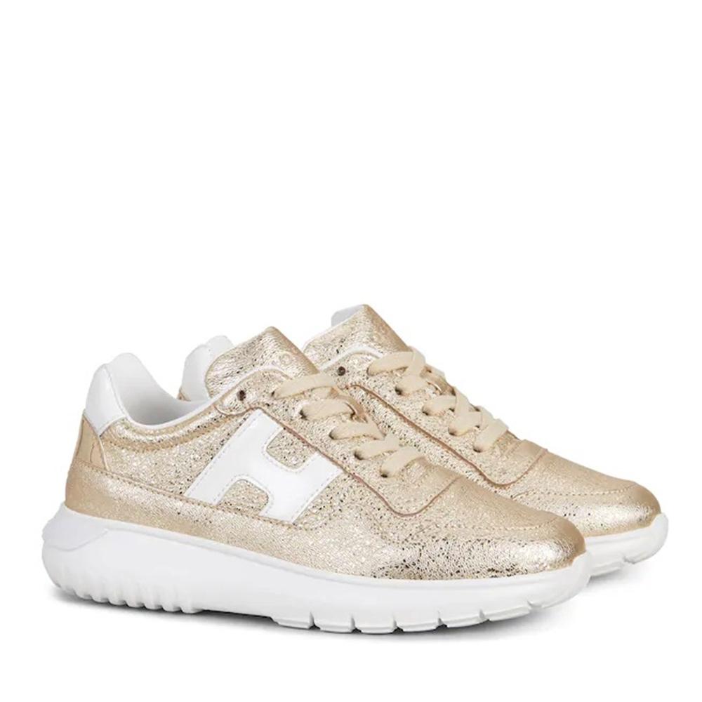 Sneakers Bambina Oro Hogan Junior HXC3710AP30M8X772M  -18