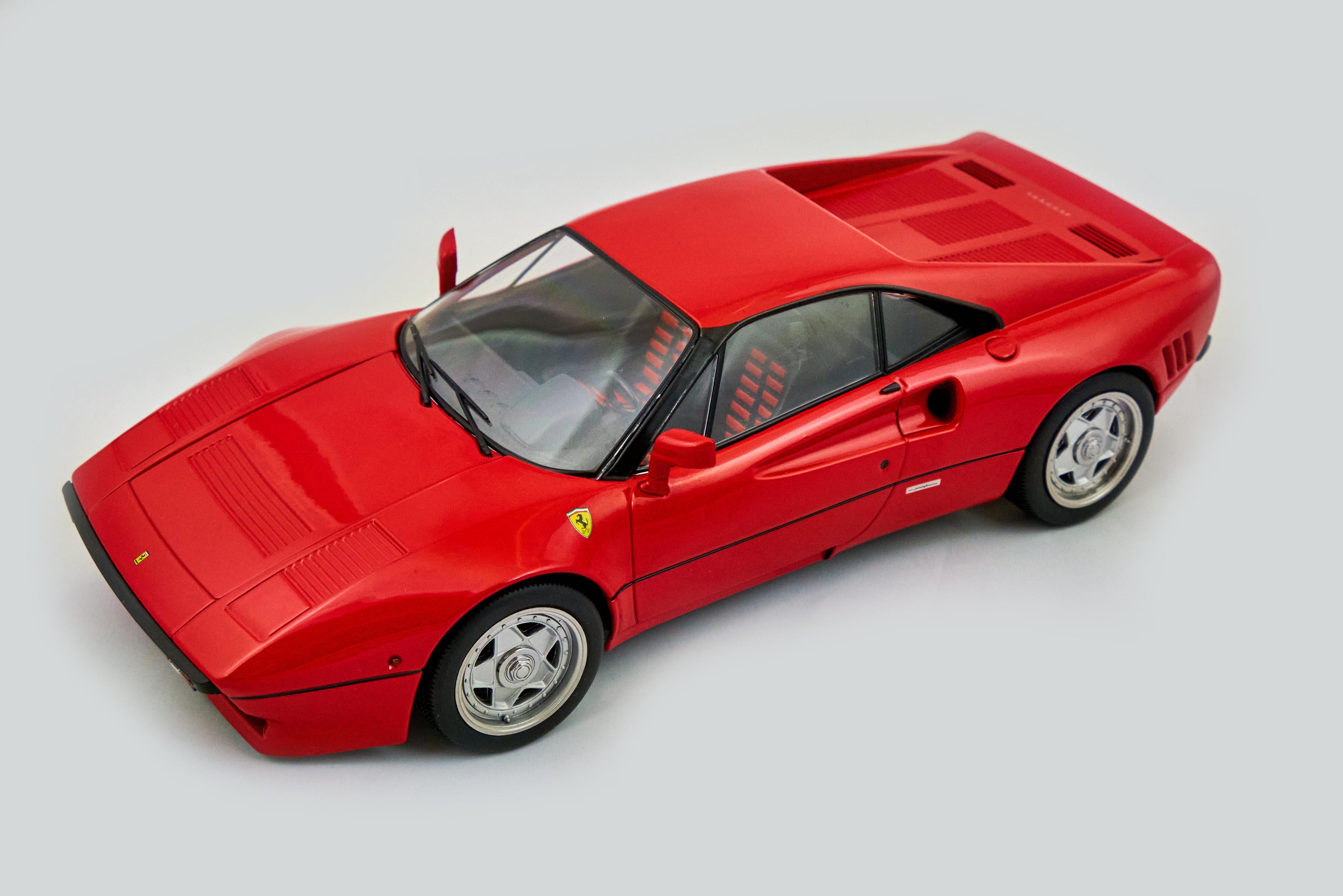 288 GTO 1984 Rosso Corsa 1/18 Kk