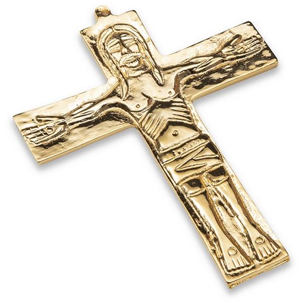 Croce Neocatecumenale con doratura 24k cm. 15x12