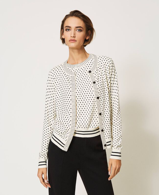 SHOPPING ON LINE TWINSET MILANO CARDIGAN  NEW COLLECTION WOMEN'S SPRING SUMMER 2021