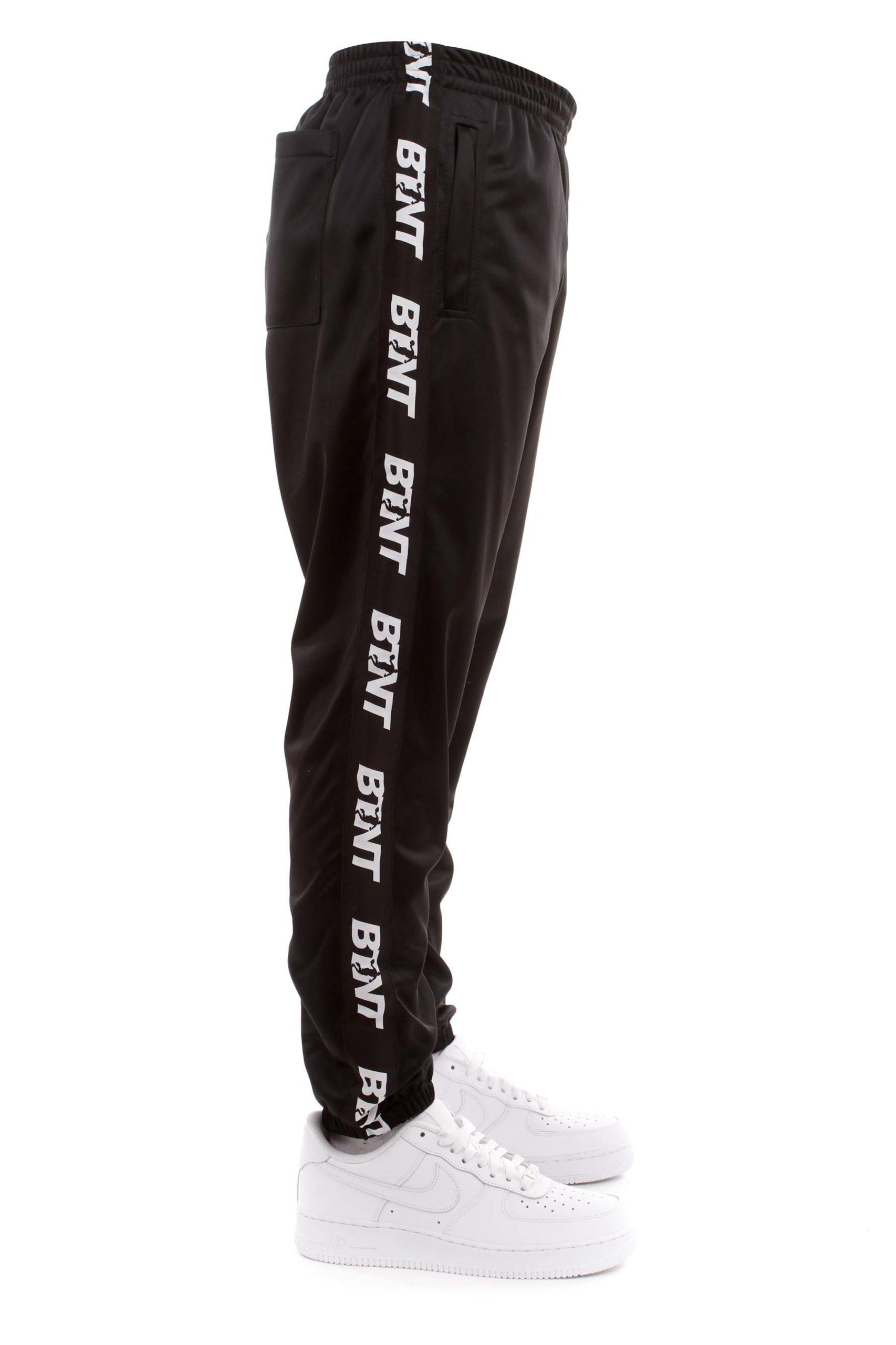 Pantalone butnot acetato black/white