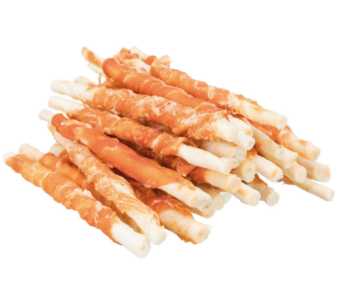 Trixie - Denta Fun - Bastoncini con Pollo arrotolato - 12cm 30 pezzi
