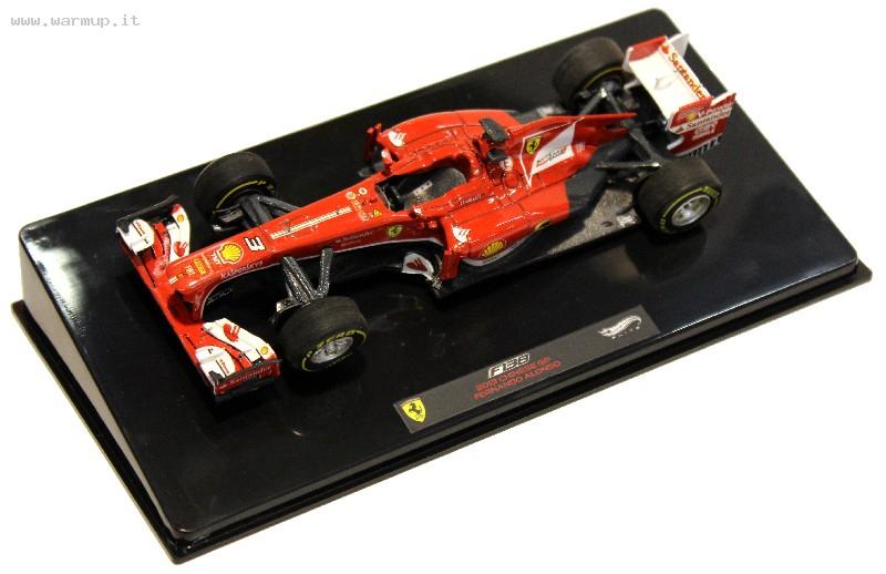 Ferrari F138 2013 Chinese GP F. Alonso 1/43 Die Cast Model  Hot Wheels Elite