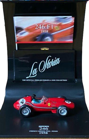 Ferrari  La storia Dino 246 1/43 Hot Wheels 1958