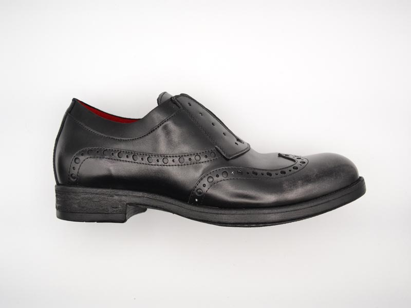Hundred100 - Calzatura Uomo Oxford Asport Grigio M514-21