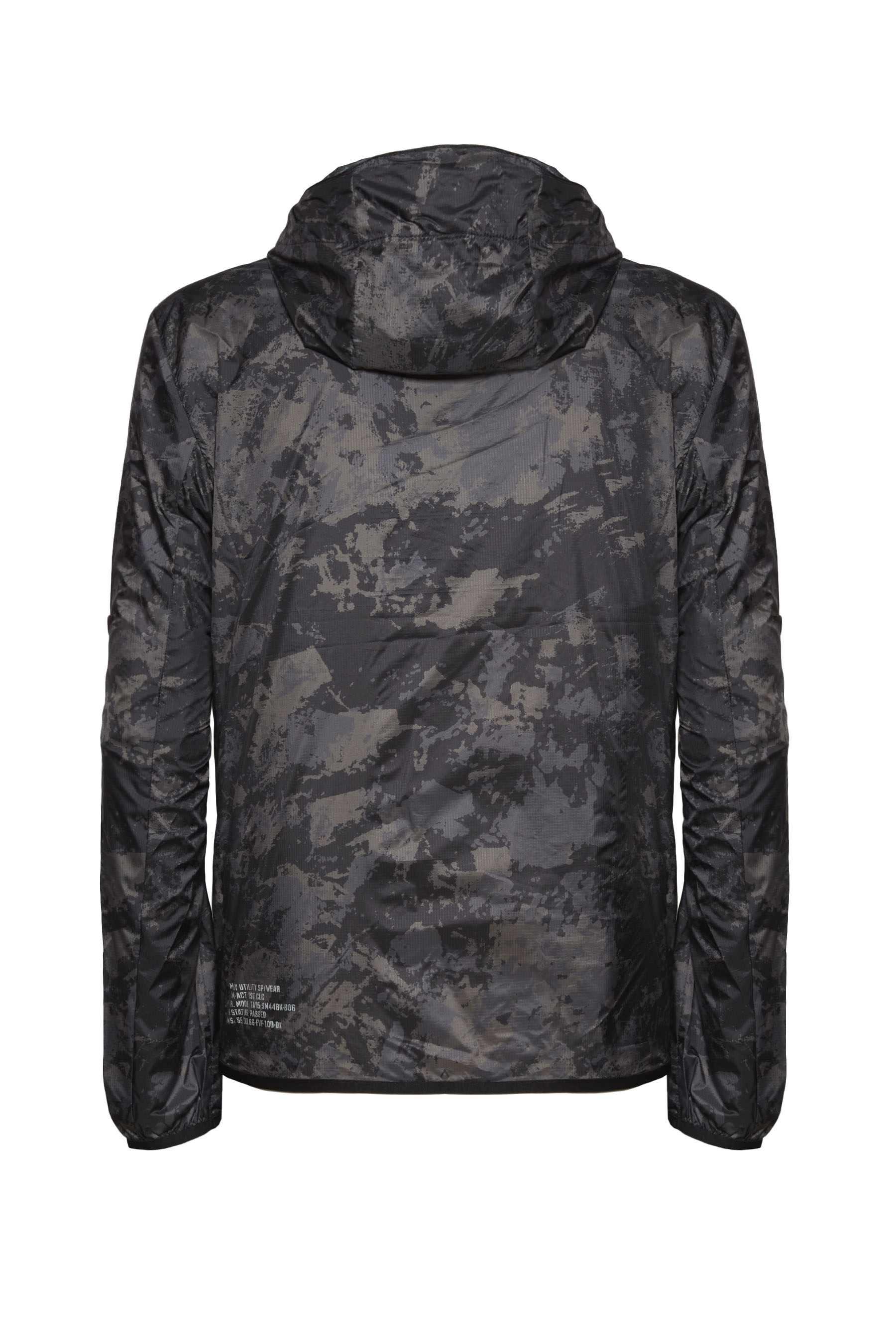 Camouflage Hooded Windbreaker 2