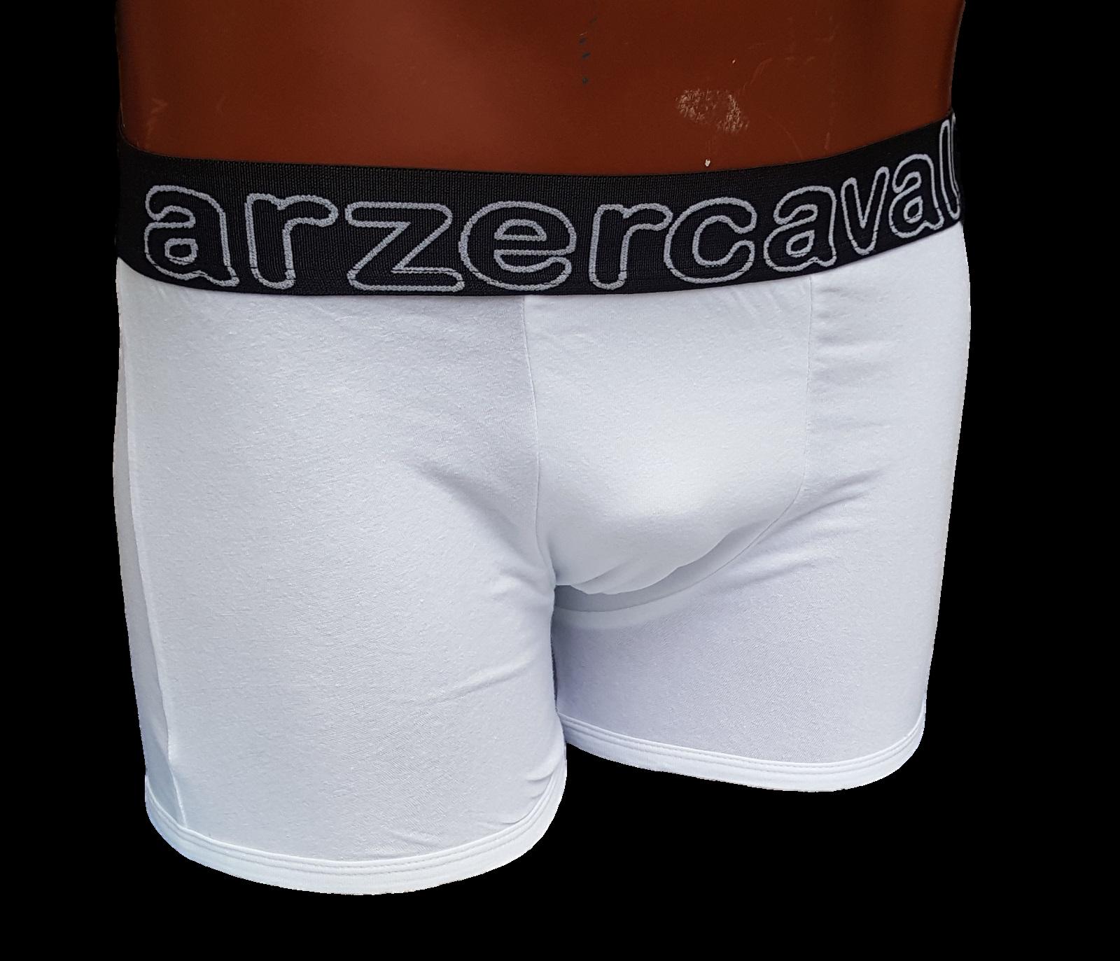 ARZER CAVALLI - 002B. Boxer uomo con elastico esterno. 90% Cotone - 10% Elastam