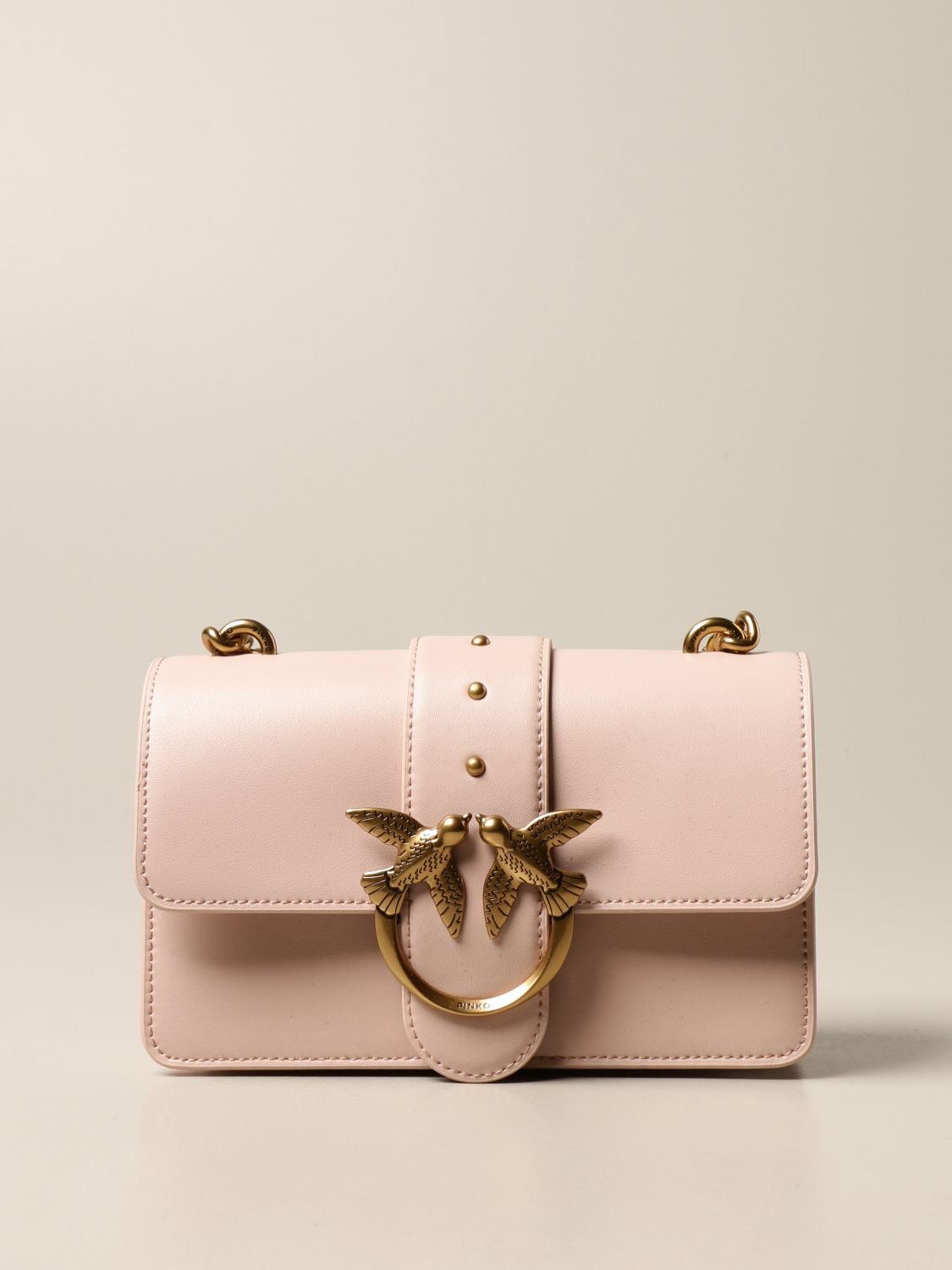 SHOPPING ON LINE PINKO MINI LOVE BAG ICON SIMPLY1 BLU E ROSA NEW COLLECTION WOMEN'S SPRING SUMMER 2021