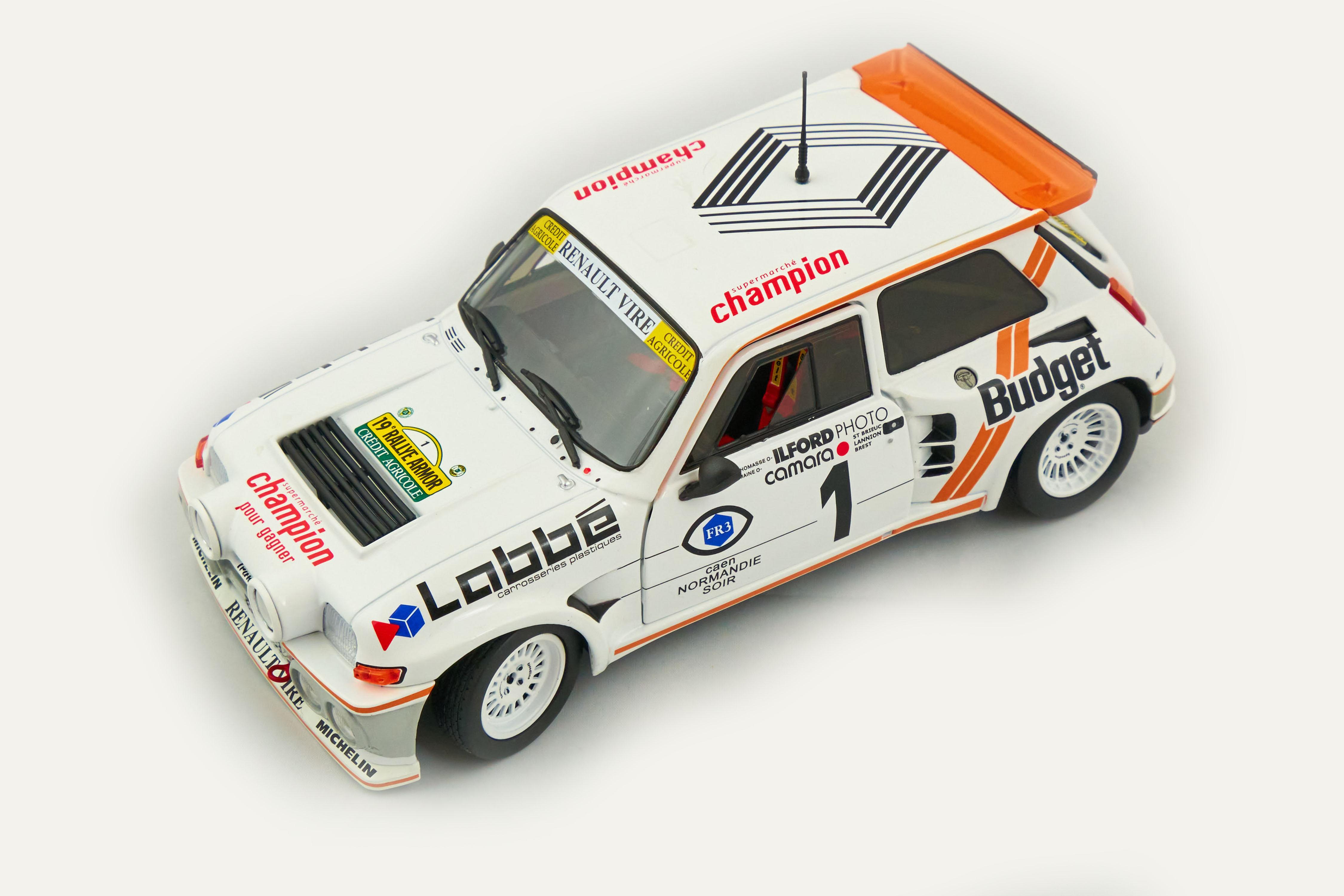 Renault Maxi 5 Turbo Rallye D'armor 1986 1/18 Solido