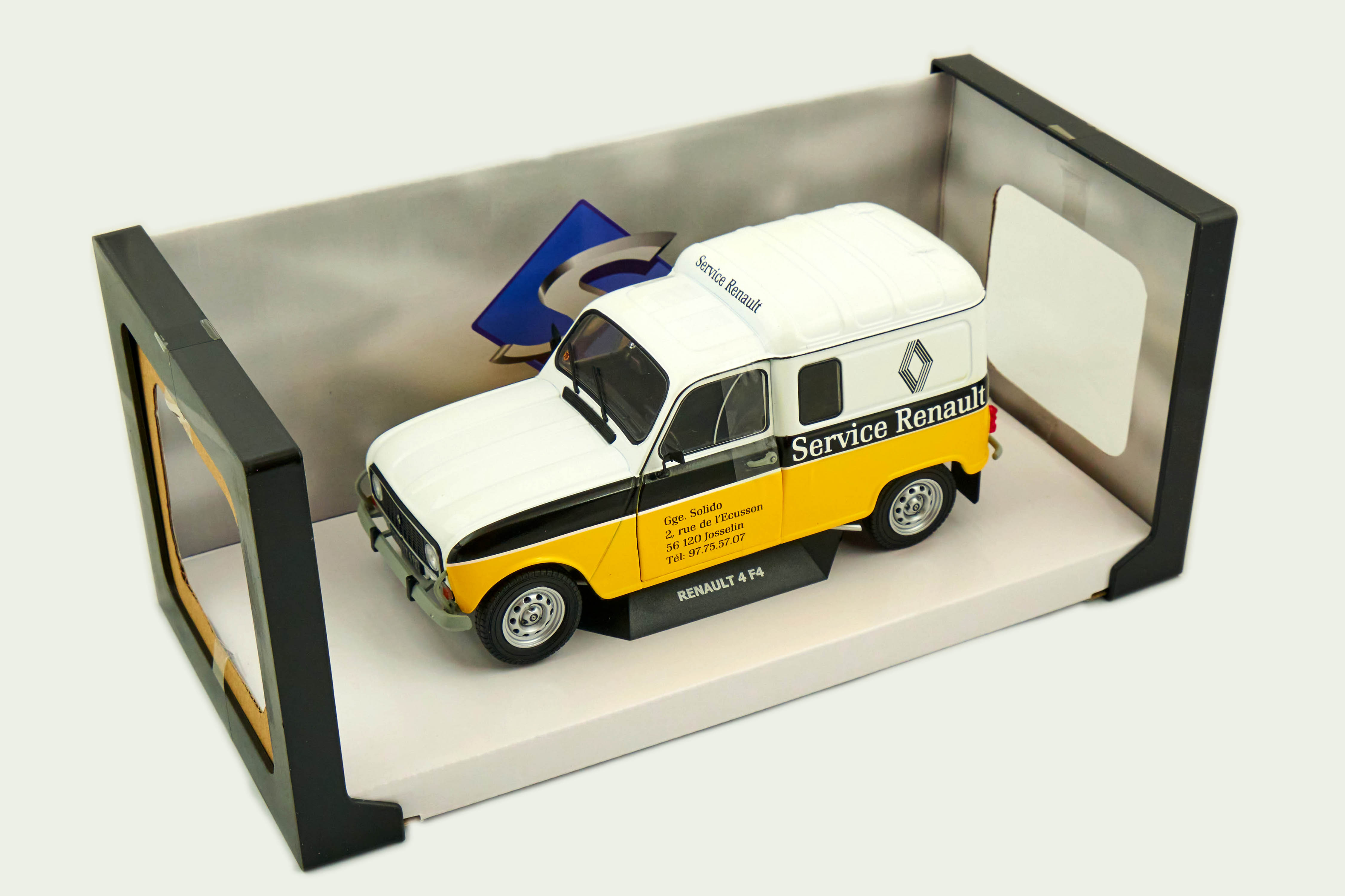 Renault 4lf4 Service Renault 1/18 Solido