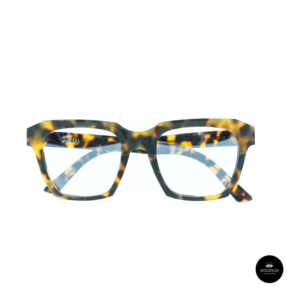 Dandy's eyewear Fobico Avana Gialla, Rough Version