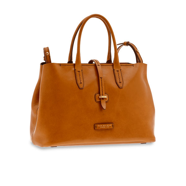 Borsa shopper in pelle The Bridge 04131701