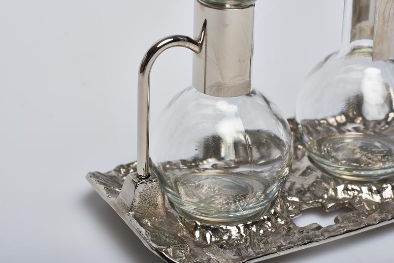 Ampolline vassoio fuso nikel