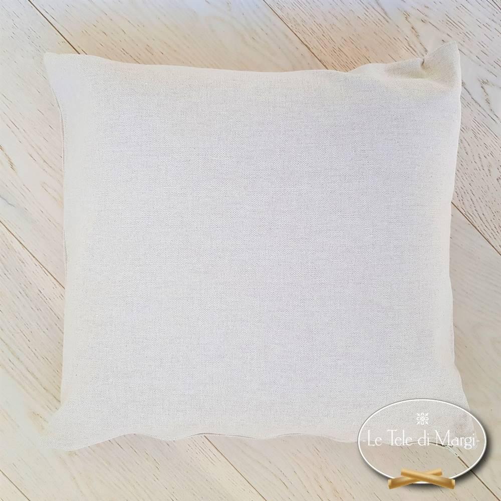 Fodera cuscino 40 x 40 tinta unita beige