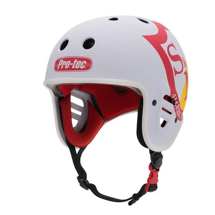 S&M Full Cut Pro-Tec Helmet | White