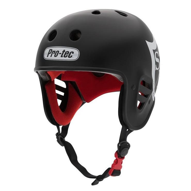 S&M Full Cut Pro-Tec Helmet | Colore Black