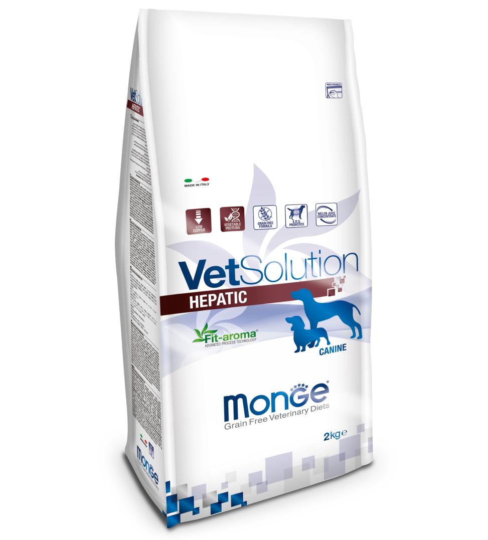 Monge - VetSolution Canine - Hepatic - 2kg